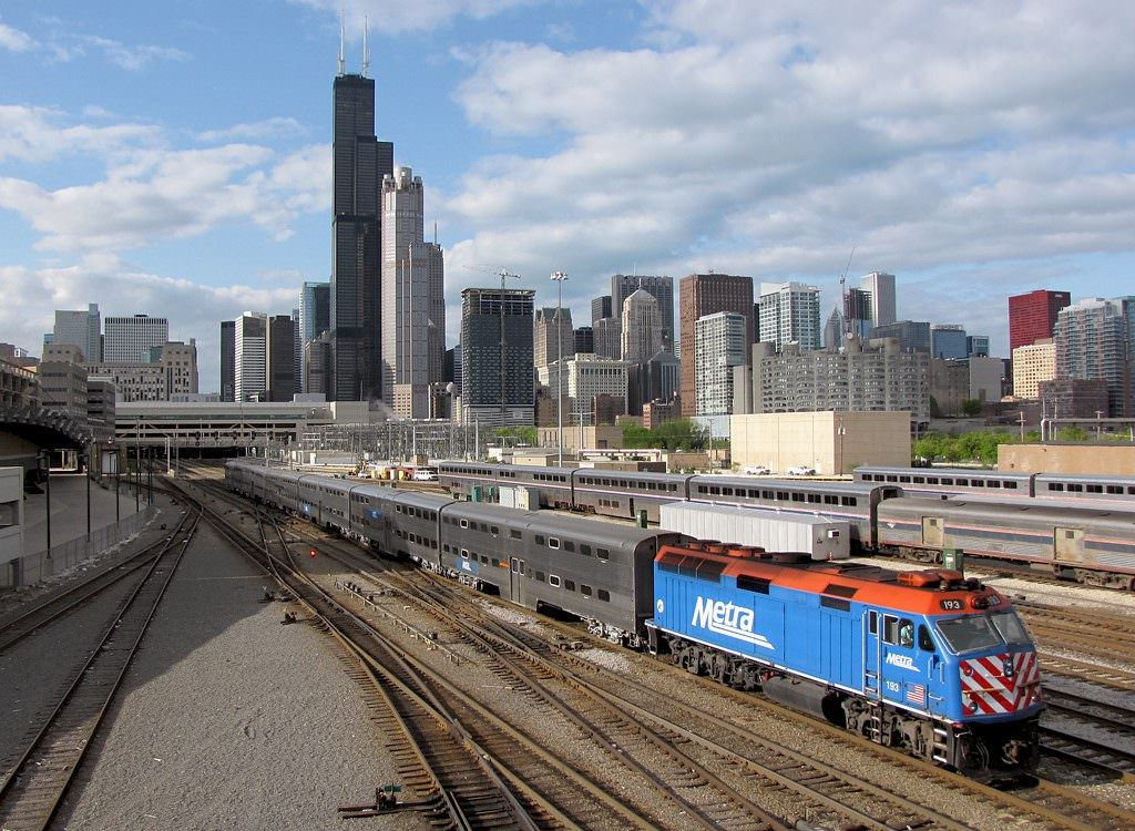 metra transportation chicago