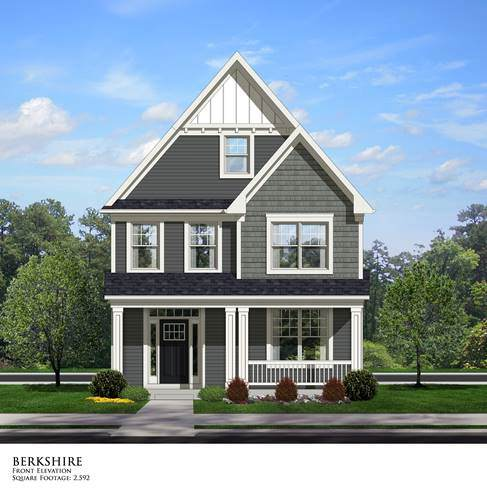 Hawthorn Woods model home
